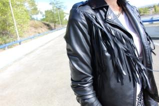 leather fringes