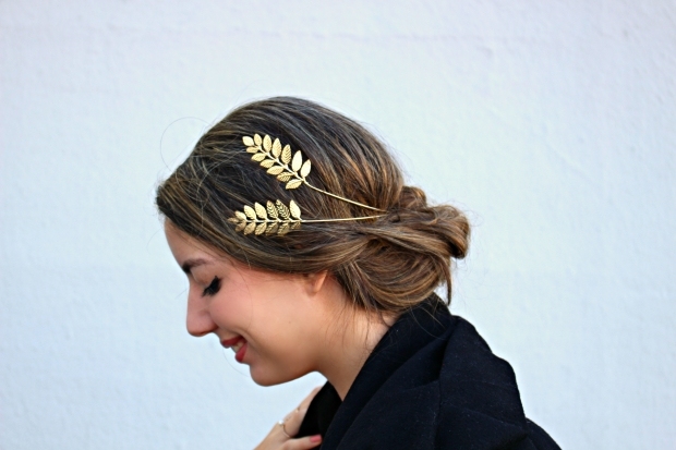 golden tiara