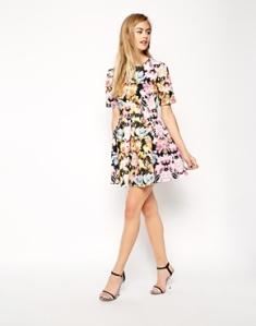 vestido asos flores verano summer dress