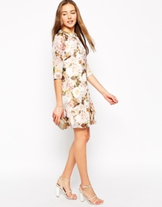 vestido veraniego flores flower dress cute asos