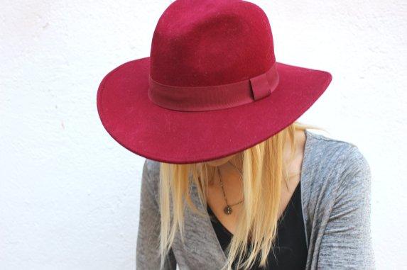 streetstyle fedora hat sombrero