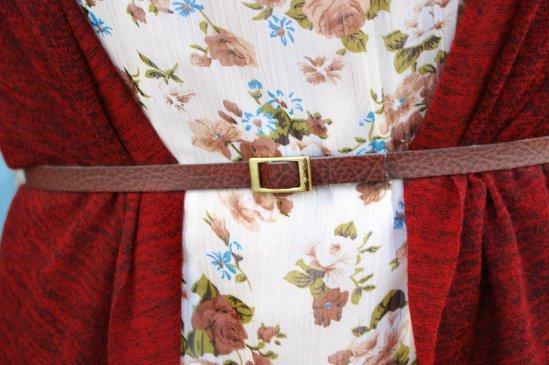 bely summer cute cinturon flores