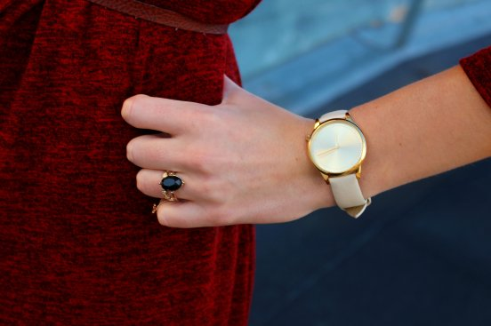 cute watch komono reloj nuevo verano daniel wellington cream gold oro