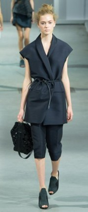 phillip lim trends spring summer 2015 nudo knot tendencias verano black