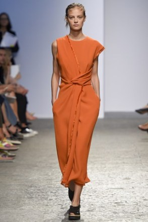 sportmax spring summer 2015 trends orange color naranja