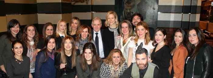 maria leon cena grupo bloggers moda