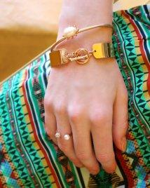 bracelets gold doradas pulseras verano perla pearl