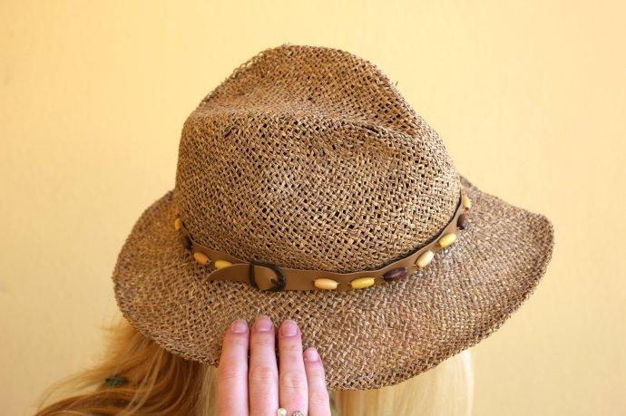 sombrero paja hat summer straw wicker