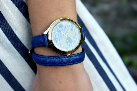 parfois watch ootd cool blue summer