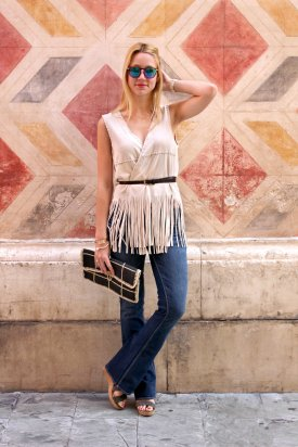 look of the day blogger style