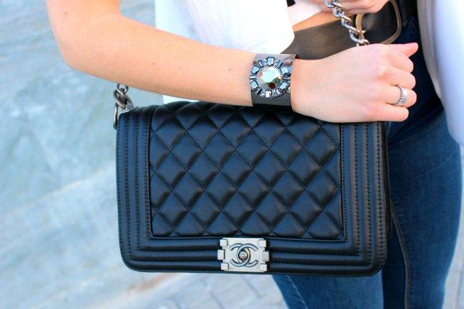 chanel bag bolso itbag black negro luxury lujo