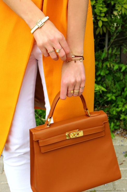 bag bolso kelly cuero marron tendencia 2015