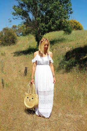 white maxi dress maxidress long lace