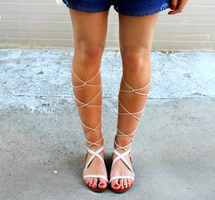 gladiators white ootd streetstyle fashionblogger inspiration trends summer 2015 sandals sandalias gladiadoras