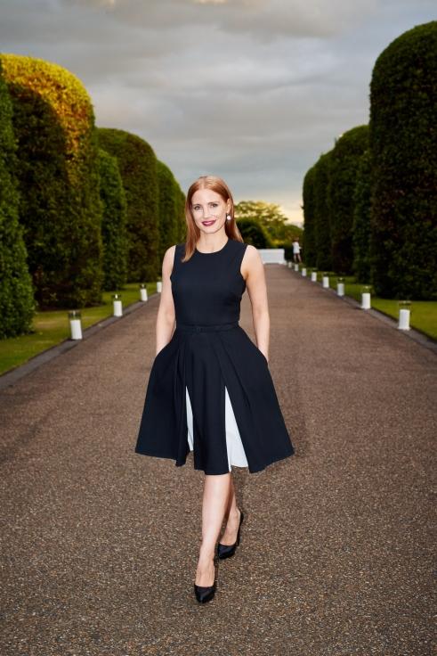 Ralph Lauren - Wimbledon Event - The Orangery - Kensington Palace 22nd June 2015 - JESSICA CHASTAIN