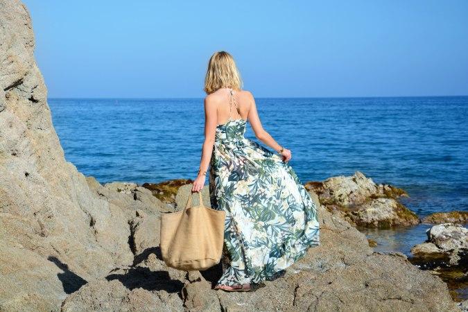 open back dress vestido espalda descubierta aire mar summer verano 2015 sea