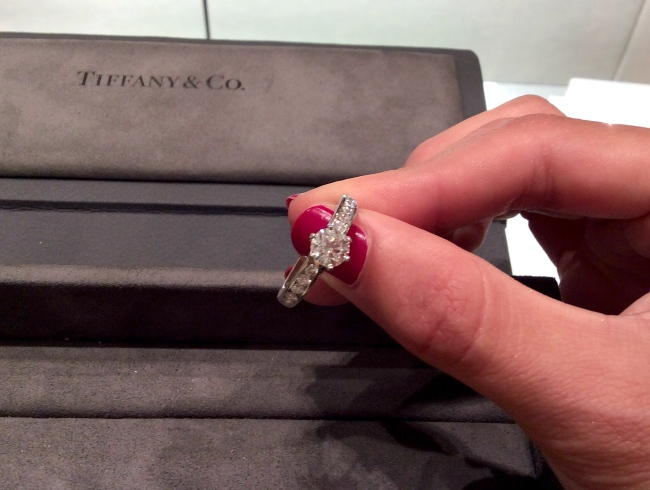 tiffany ring commitment compromiso anillo pedida boda diamantes diamonds