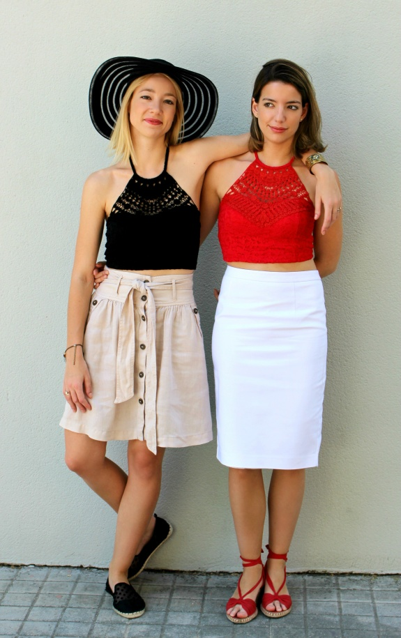 crop top crochet lace streetstyle girls fashionblogger trends