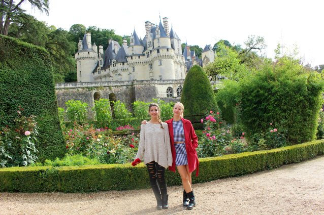 chateaux loira castillos france holidays summer fashionblogger