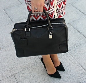 loewe bag bolso black Amazona luxury streetstyle itbag fashionblogger
