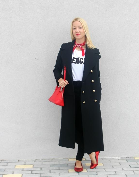 navy coat long abrigo largo marinero chloe trends wniter 2015 2016