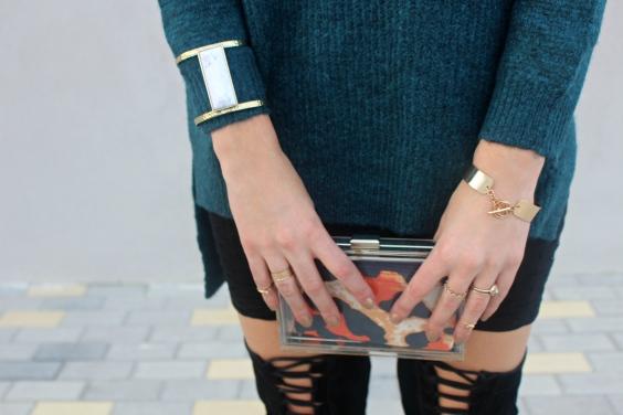 clutch transparent ideal precioso bolso blogger fashion winter trends 2016