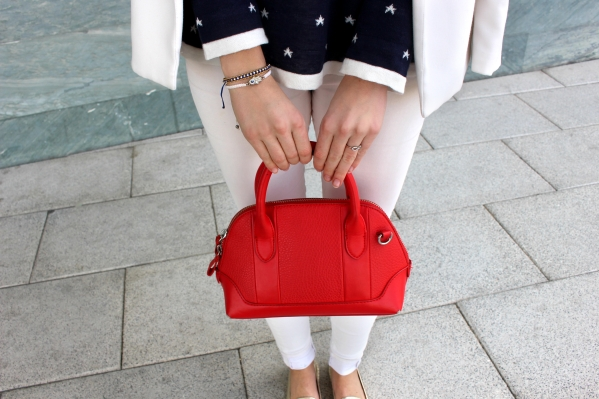 bag style fashionblogger red handbag bolso rojo trends 2016