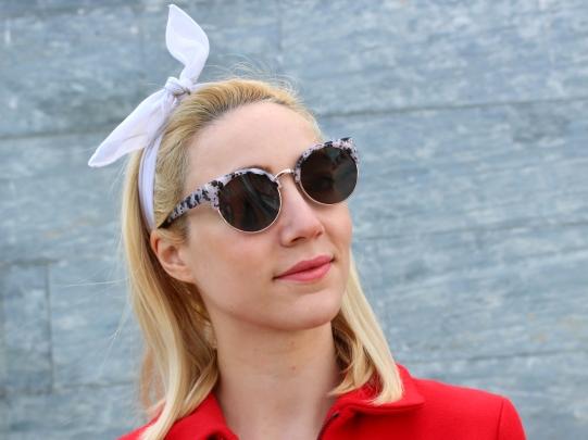 fashionblogger sunnies summer gafas de sol style inspo streetsyle white girl