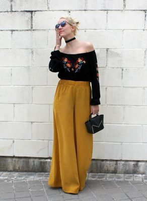 palazzo mustard yellow trousers trends 2016 summer color