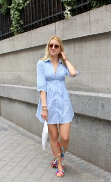 shirt dress vestido camisero fashionblogger estilo tendencias verano 2016