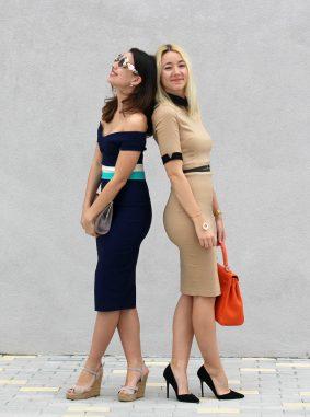 best dress summer trends camel pencil heels sandals